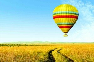 Hot Air Balloon Safari in Kenya
