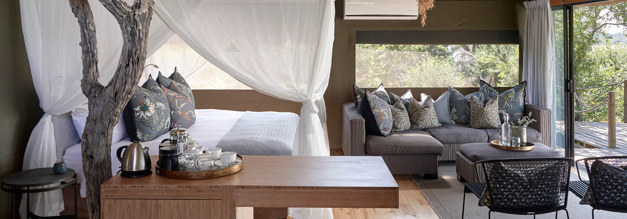 Victoria Falls River Lodge Tent